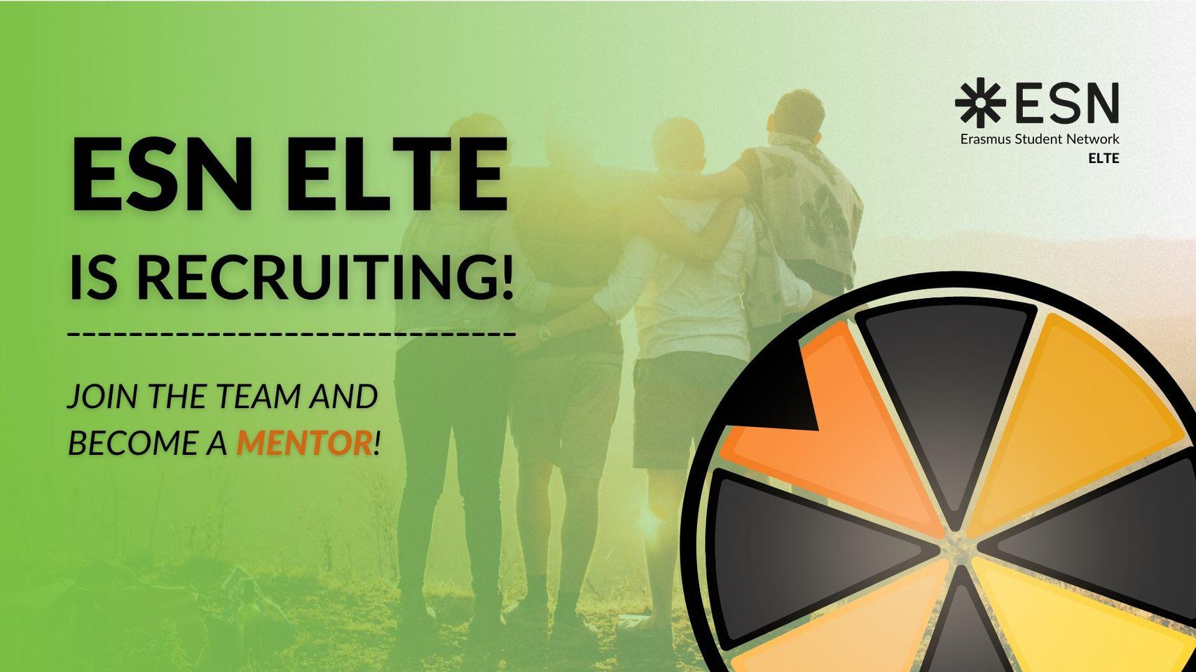 Image of ESN ELTE Mentor Recruitment 2021/spring - ENDED