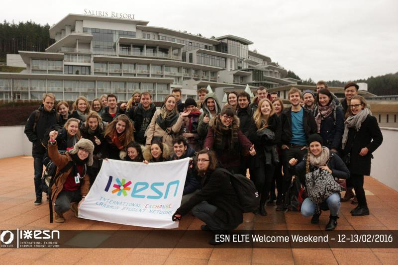 ESN ELTE Welcome Weekend