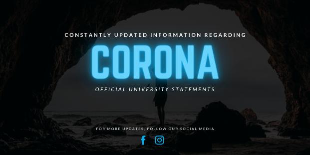 Image of Constantly updated information regarding Coronavirus