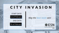 Image of City Invasion with ESN ELTE