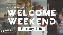 Image of ESN ELTE Welcome Weekend