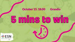 Image of 5 minutes to win