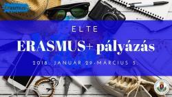 Image of ELTE Erasmus+ Pályázás