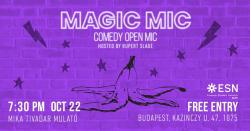 Image of Magic Mic Comedy Open Mic