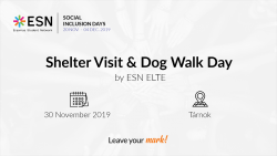 Image of Dog Walk Day - Social Inclusion Days ESN ELTE