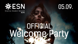 Image of OFFICIAL WELCOME PARTY