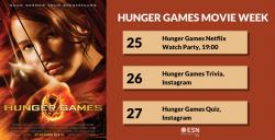 Image of Movie Week - Hunger Games