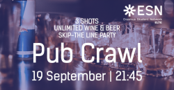 Image of All You Can Drink Pub Crawl by ESN ELTE